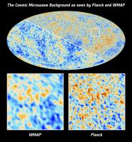 The CosmicMicrowave Background as seen by Planck and WMAP